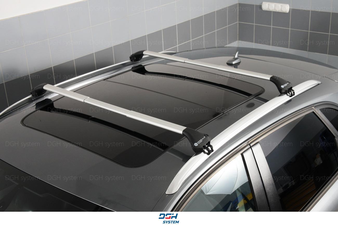 MENABO Dachträger Tema Aluminium silber Querträger FP Für Mercedes GLC Coupe 16