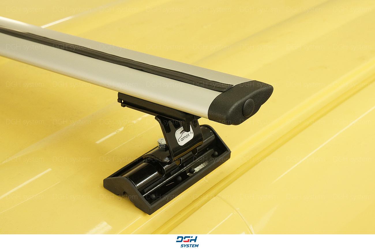 Dachträger Für Subaru Tribeca B9 06-07 mit Fixpunkten Stahl Schwarz 140cm