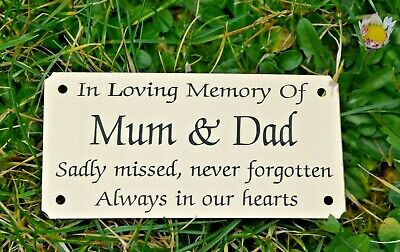 """SOLID BRASS MEMORIAL BENCH PLAQUE GRAVE SIGN PERSONALISED ENGRAVED 4""""X2"""" & 5""""x2"""" 4"""