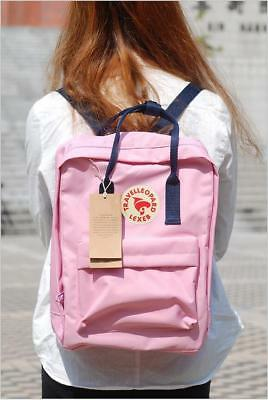 Unisex Fjallraven Kanken Backpack Travel spalla scuola borse Marca 7L/16L/20L 3
