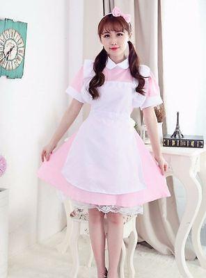 Home Female Akihabara Cosplay Dress Halloween Girl Maid Cosplay Lolita Women Dress Cinderella Cosume Girl Vintage Princess Dress
