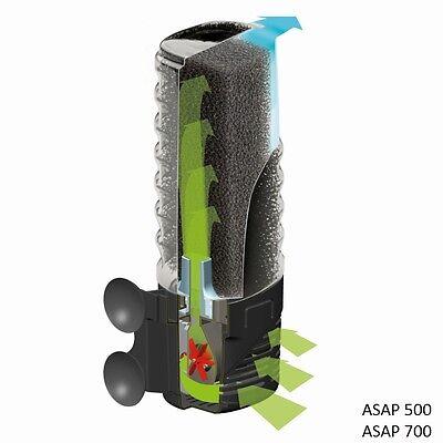 Aquarium Innenfilter Aquael ASAP kompl.Serie Schwammfilter Aquarien Filter Pumpe 3