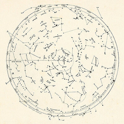 VINTAGE STAR MAP Antique Wall Art - Antique Zodiac Map - Vintage Astrology on story map, skagen map, cat map, moon map, earth map, everest map, scorpius map, complete astrology map, astrology chart map, ancient greek astronomy map, zombie map, fire map, monkey map, titanic map, capitals of the world map, astrological sign map, constellation map, world war z map, azimuth map, flags of the world map,
