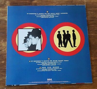 """Blow Monkeys – It Doesnt Have To Be This Way (1987) RCA Victor – 6281-1-RD 12"""" 2"""