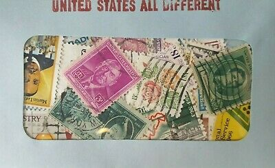 30 Used US Postage Stamps 40-100 YRS OLD *All Different*  Book Value $5.00! 3
