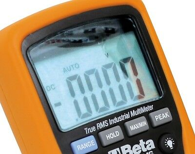 Beta Tester multimetro digitale industriale 1000V anticaduta IP67 Mod. 1760/RMS