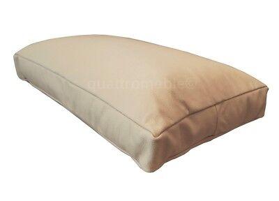 Rot Echtleder Sofa Couch Kissen Lederkissen Echt Leder Ruckenkissen