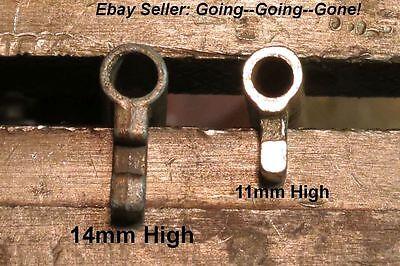 ANTIQUE HOLLOW BARREL KEY ROLL TOP DESK CABINET DRAWER KEY EARLY 1900's NICE 84B 6