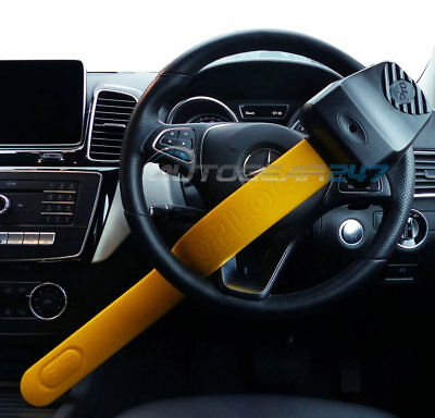 For Mercedes GLS GLE ML 4x4 Stoplock Pro Elite Thatcham Car Steering Wheel Lock 5