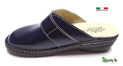 Pantofole ciabatte donna chiuse MADEinITALY PLANTARE ESTRAIBILE 310 italiane 5