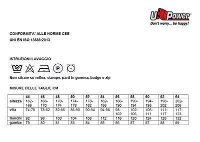 PANTALONE DA LAVORO U-POWER GRIN  UPOWER linea Happy HY107DB 4