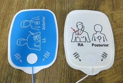 Étui de 10 Physio Contrôle Heartsync Adulte & 10 Pédiatrique Lifepak Électrodes 5