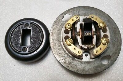 Vintage Arrow Hart Hegeman AH&H Surface Mount Light Snap Switch 8