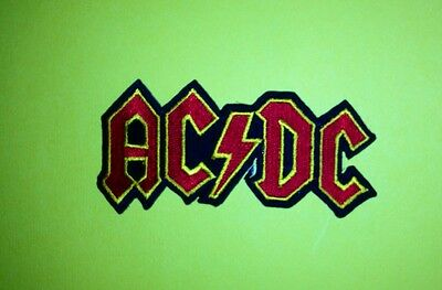 5 Lot AC / DC Rock Music Iron On Hat Jacket Backpack Hoodie Patches Crests