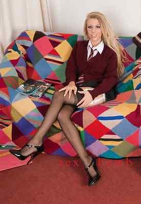 SEXY scarpe decolte domina bianche cinturino tacco 15 N. 38 fashion GLAMOUR ! 2