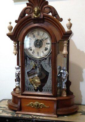 Wood Finials For Ansonia Triumph, F Kroeber Occidental Clock, 6 pieces 2