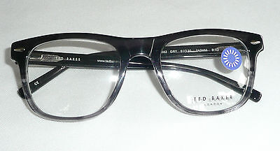fbed235cc4a ... 5FREE Shipping Ted Baker London Eyeglass Glasses Frames B882 Grey  51-20-140 B