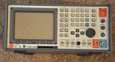 Aeroflex IFR Com 120B Communication Service Monitor 809 Hrs 1GHz Tracking Gen