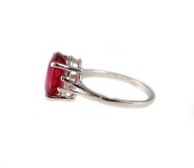 Red Sapphire Ring 5¼ct Antique 19thC Medieval Sorcery Psychic Anti-Black Magic 5
