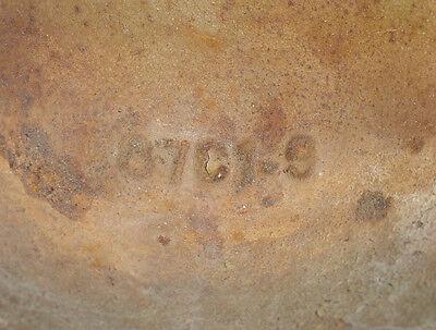 "Cast Iron Streetlight Nut Covers Antique - Set of 4 - D: 4.25"" W: 5.75"" H: 2"" 8"