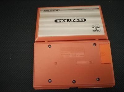 Cache pile Nintendo game & watch Donkey Kong 2