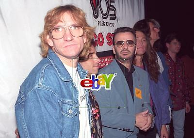 Ringo Starr Son Zak All Starr Band 4 Original 4x6 Photos 1992