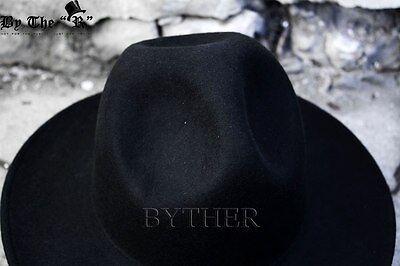 ... ByTheR Mens Fashion Modern Classic Wool Felt Chic Mountain Fedora  Casual Hat CA 6 78d5337efe7