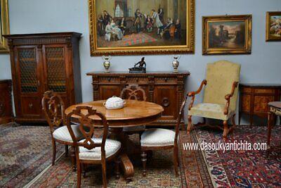 Tavoli Da Pranzo In Stile.Antico Tavolo Da Pranzo Ovalino Stile Umbertino Del 900 Eur 500
