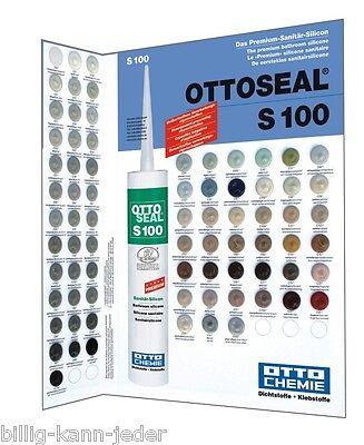 OTTO CHEMIE SILIKON S 100 Premium Sanitär Silicon  300 ml  Farben S-Z