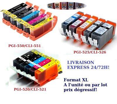 Cartouche Canon compa Pixma CLI PGI PG CL 512 513 545 546 540 541 MX 530 535 350 2
