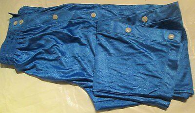 100 PC Sports Break Away Dazzle Pants Royal Blue Big Boys 100% Nylon Wholesale