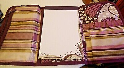 31 Thirty One Fold N Go Organizer Purple Paisley 3