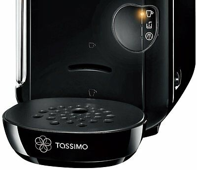 Bosch Tassimo Vivy Hot Drinks and Coffee Machine 1300W Instant Coffee Pods Black 10
