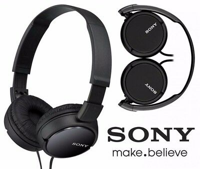 Sony MDR-ZX110 Stereo Over-Head Headphone Extra Bass Black & White Colors 3