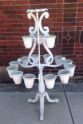 Rare Vintage Molla Tiered Garden Plant Stand Planter WILL SHIP 2
