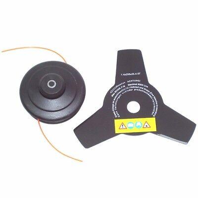 55876 Débroussailleuse thermique 52cc avec bobine disc tronconneuse 7