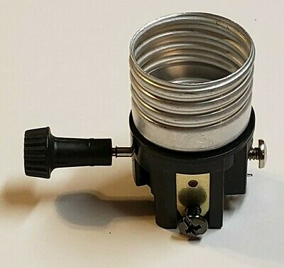 3 Terminal Turn Knob Interior Lamp Socket For Wiring Bottom Light 30684J 2