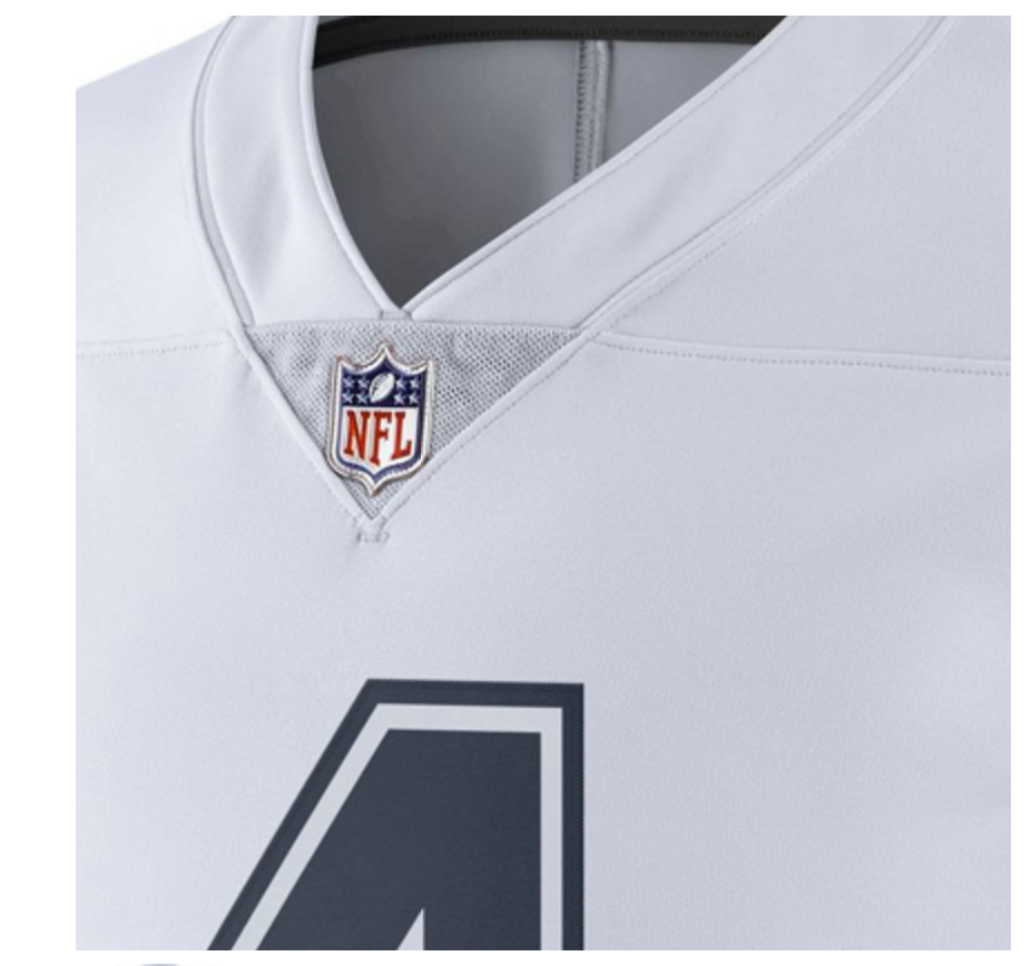 eba84091b Dak Prescott Dallas Cowboys Nike XC1 Color Rush Limited NFL Jersey -White/Navy  3 3 of 3 See More