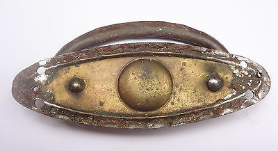 Small  Antique Brass Drawer or Chest Handle 3 1/16'' Long # Free Shipping 8