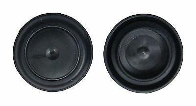 """1/"""" 1.0 inch Black Rubber Plugs for Flush Mount Body and Sheet Metal Holes Qty 10"""