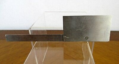 Vintage General Hardware No. 17 Stainless Steel Machinist Measuring Protractor 4