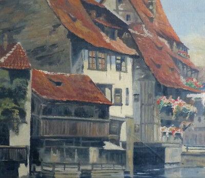 Antiguo Casas Am Río, Impresionista, 1. la Mitad 20. Siglo 2