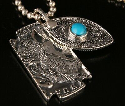 925 Silver Real Silver Solid Silver Pendant Fashion Decorative Without Chain 2