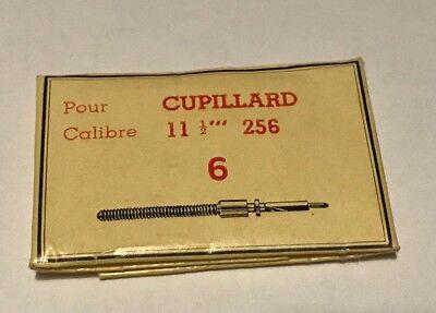 NEUF @ 1 TIGE DE REMONTOIR POUR CALIBRE CUPILLARD 233 @ CUPILLARD WINDING STEM