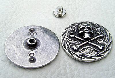 Auffällige Ziernieten Beschlag Celtic Heller Farbe Altsilber No.3 Zum Schrauben