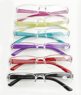 Gafas De Lectura Graduadas Color Con Estuche Gafas Para Leer +1 +1.5 +2.0 +2.5 2