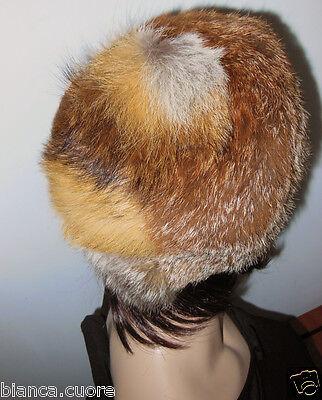 ... Cappello donna VOLPE pelliccia color miele sfumato colbacco tgl 57 G021  2 183e7ef6d176