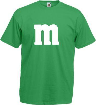 Für M&M Kostüm Fans MM T-Shirt Karneval Fasching Dart Gruppenkostüm Herren Damen 10