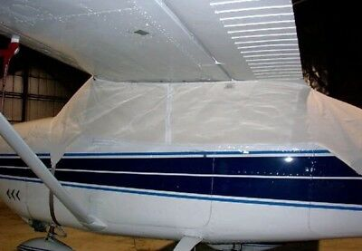 Cessna 182 windshield cabin cover (Sunforger Canvas)