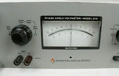 North Atlantic Phase Angle Voltmeter Model 213C, Tested hs 2